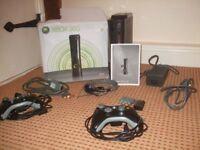 X Box 360 Elite with spare controller