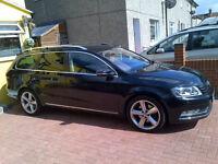 Volkswagen Passat Sport Bluemontn Tech Tdi manual estate with f/sh from Vw & Sat/nav