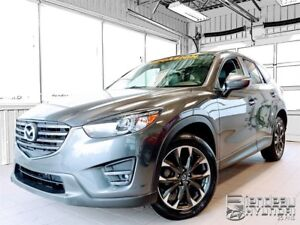 2016 Mazda CX-5 GT, AWD, GPS, CUIR, TOIT OUVRANT, MAGS, BLUETOOT