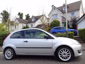 12 MONTH WARRANTY! FORD FIESTA ZETEC S 1.6 3dr GENUINE 30k Miles- Immaculate- One Private Owner- FSH