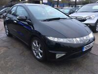Honda Civic 2.2 i CTDi EX Hatchback 5dr£2,745 p/x welcome FINANCE AVAILABLE, NEW MOT