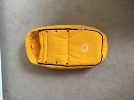 Bugaboo Bee Baby Cocoon in yellow. Immaculate condition