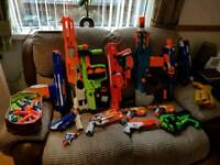 Nerf guns large collection