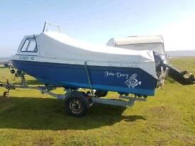 16 ft John dory with tohatsu tldi 50 2013