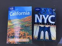 Lonely planet new York and California guides