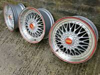 BBS RS Style alloys x 3