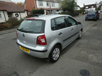 excellent condition polo 1.2s 5dr. A/C. full mot. very good runner.