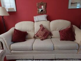 Settee and Arm chairs