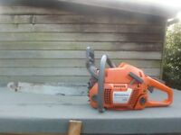 Husqvarna 350 powerful chainsaw exellent 165psi compression
