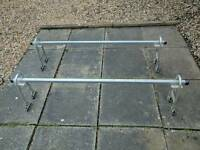 Roof bars for van with gutters