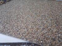 Stone chipped Fibreglass boards