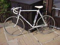 Serviced Vintage Raleigh 10 Speed Road/Race Bike