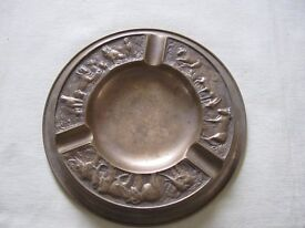 Bronze Ashtray by A Cohen of London
