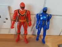 Power rangers, as new, £3 the lot