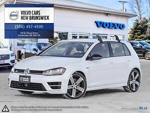 2016 Volkswagen Golf R DSG! HEATED LEATHER! NAV! ONLY 16K!