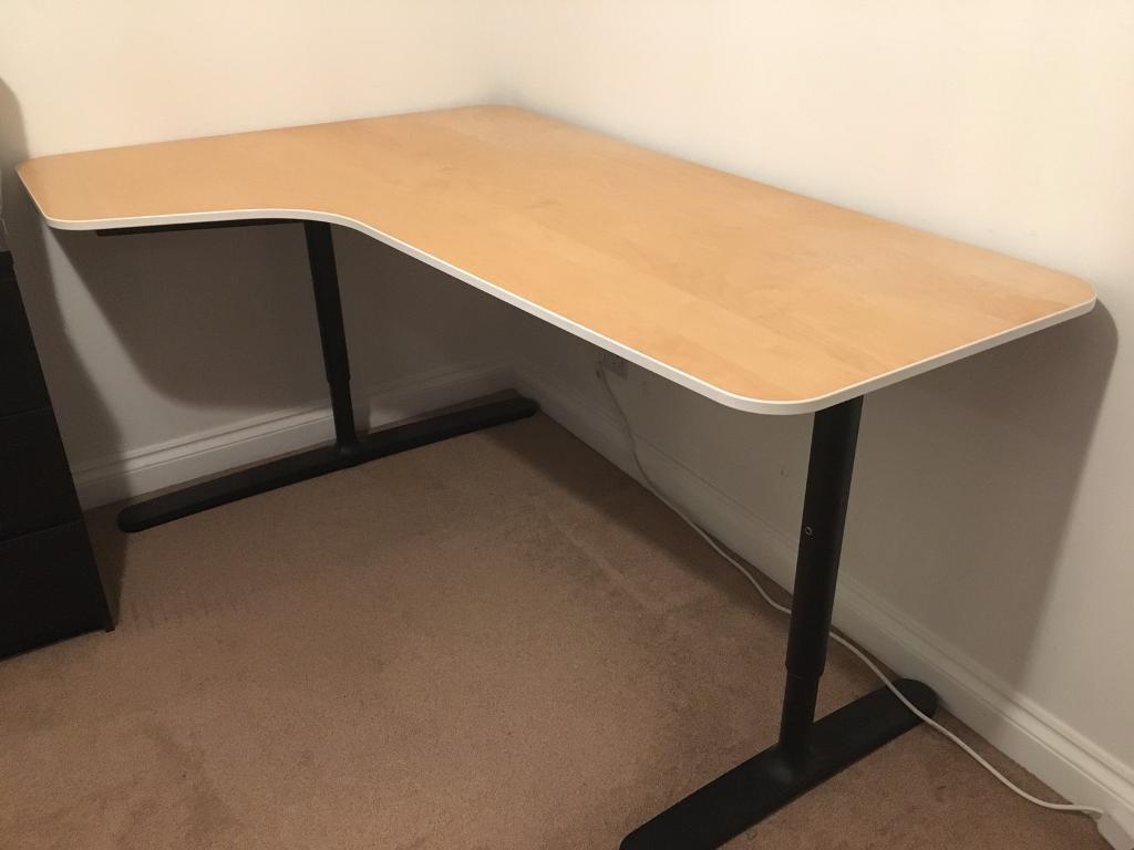 Curved Corner Desk Ham Radio Desks