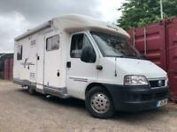 Fiat Ducato Elnagh Motorhome Campervan Low Miles Long Mot Drives Well Fixed Bed Towbar !
