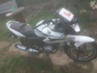 Honda CBF 10 plate