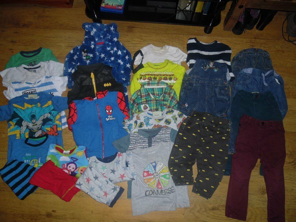 27e17729d BABY BOYS BUNDLE OF CLOTHES  AGED 12-18 MONTHS ...