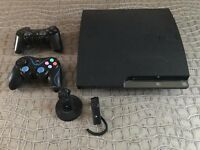 Playstation 3 Slim 250GB with 2 controllers & 13 games (Disney Infinity)