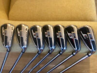 WILSON Di11 IRONS & RIFE MALLET PUTTER - £165 - CASH ON COLLECTION ONLY
