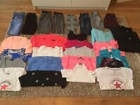 Girls huge clothes bundle age 10-11