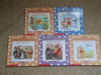 "Scholastic ""Winnie the Pooh"" Disney hardback books"