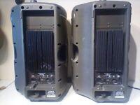 PA system Mackie CFX 12 mixer & 2 SRM50 Speakers