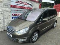 FORD GALAXY 2.0 TDCi 140 Titanium X Powershift Auto (green) 2011