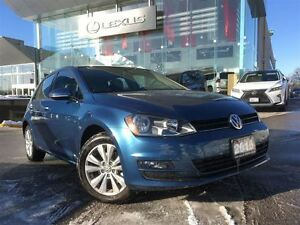 2016 Volkswagen Golf 1 Owner Nav BUcam Lthr Btooth Sroof
