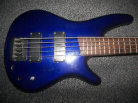 BASS Ibanez 5-String Bass Guitar.