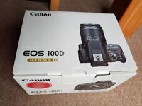 Canon EOS 100D 18.0MP Digital SLR Camera with Kit lens (18-55mm)
