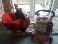 Baby Walker & Ladybird Rocker