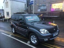 £200 off 07 plate Hyundai terracan 4x4 lovely jeep