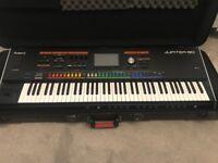Roland Jupiter 80 Keyboard (76 key) with Flight Case