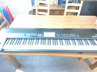 Korg Krome 88 key workstation / synthesiser used