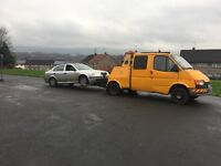 Ford transit recovery truck spec lift ex aa with winch ,SOLID VAN underneth , PX WELCOME