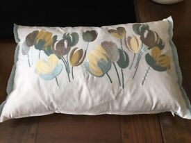 Laura Ashley 'Ava' design cushions 3 (oblong) used only for decoration