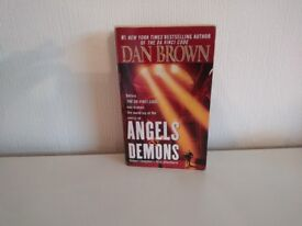 Angels and Demons by Dan Brown. First Edition