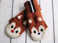 Lost Chip 'n' Dale Mitten - one missing, one still here - please help if you see it!