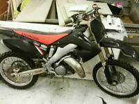 Honda 125 cr motox off road