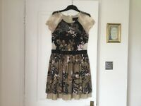 River island lovely detailed dress size 10