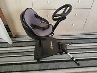 Mee go sit and ride buggy board with steering wheel and seat cover