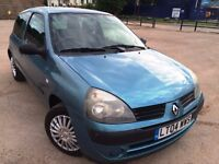 2004 RENAULT Clio 1.2 Petrol Manual DRIVES PERFECT