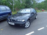 2003 (53) BMW 320 DIESEL 4 door 1 year MOT 117,000 miles £1095