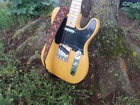 Fender butterscotch FSR telecaster guitar