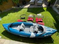 2 Man Kayak With All Essential Accessories