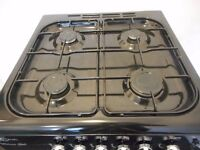 "all gas..FLAVEL""MELANO"" double cavity larger cooker...black !!"
