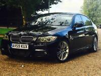BEAUTIFUL BMW 330D M SPORT LCI AUTOMATIC RED LEATHER E90 335d 530d 535d 320d 330d