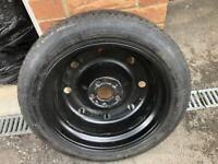Fiat 500X Spare Wheel 17 inch